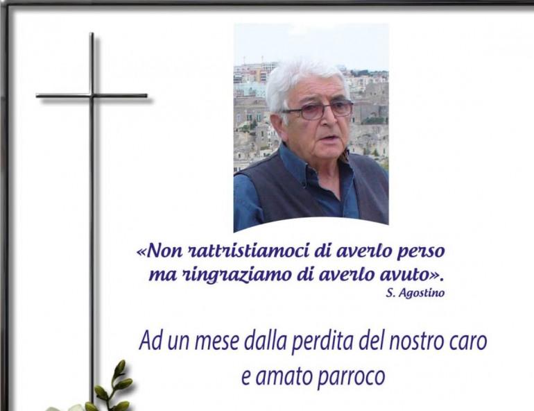 Castel di Sangro, la parrocchia San Giovanni Battista ricorda Don Eustachio