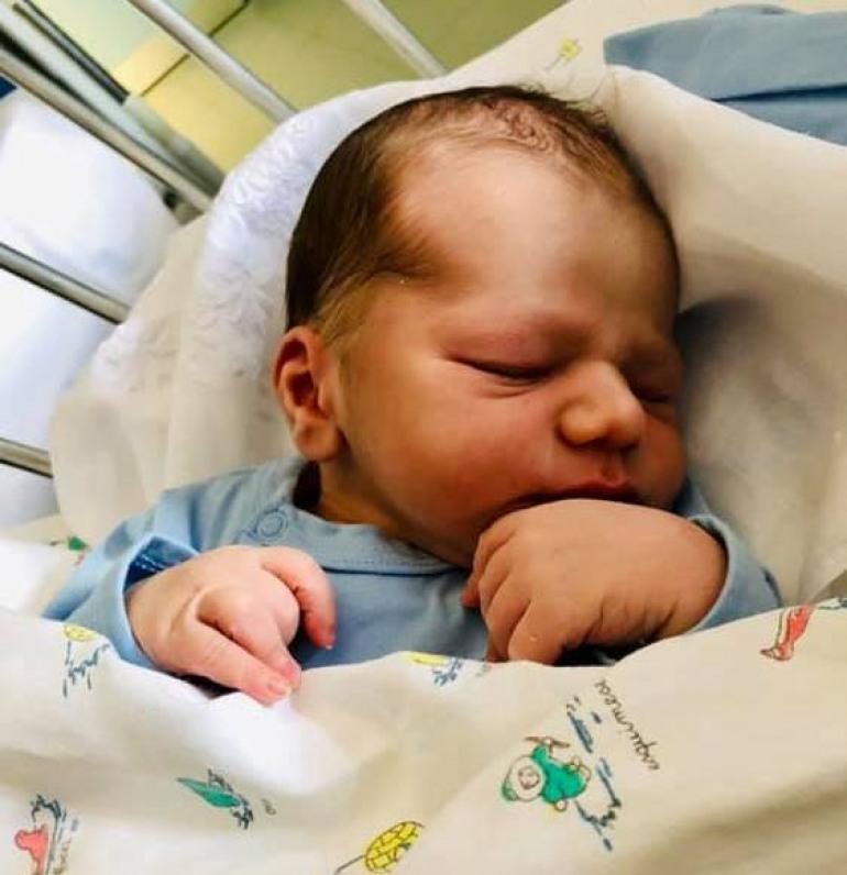 E' nato Ettore, felicitazioni a papà Cesare e mamma Crisis