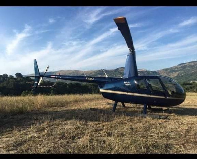 Coronavirus, arriva l'elicottero per trasporto farmaci e sorveglianza