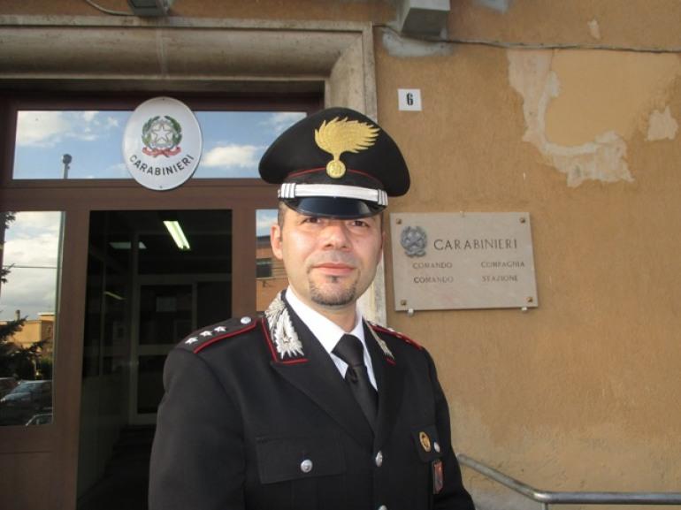 Castel di Sangro, cambio ai vertici della Compagnia dei Carabinieri