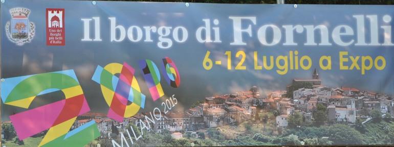Fornelli protagonosta all'Expo di Milano dal 6 al 12 luglio