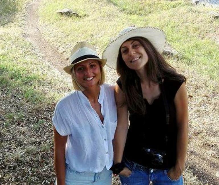 """Campobasso, """"Il viaggio romanzo di Valentina e Federica sulla via Appia"""""""