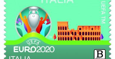 UEFA EURO 2020, Poste Italiane emette un francobollo B zona 1