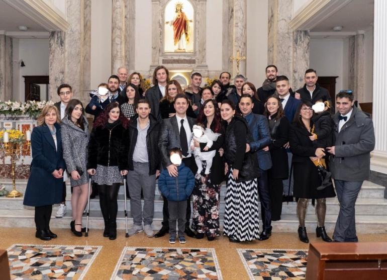 Battesimo, auguri a Frida Tomassone