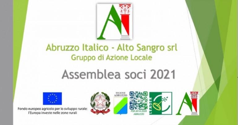 Angelo Caruso entra nel Consiglio di Amministrazione del GAL Abruzzo Italico Alto Sangro