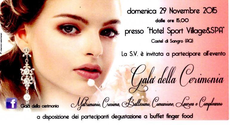 Castel di Sangro, tutti invitati al Gran Galà della cerimonia