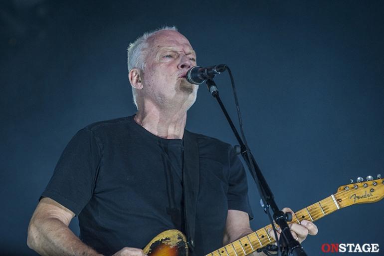 Tappa zero di David Gilmour a Castel di Sangro: one man band