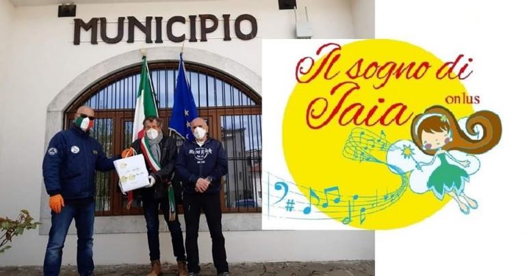 Solidarietà Coronavirus, a Civitella Alfedena arrivano le mascherine di Iaia