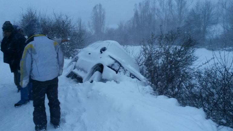 Emergenza neve Alto Sangro – Vigili del Fuoco in azione tra ss 17 e sp 84