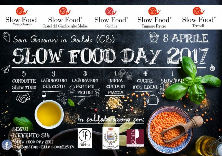 L'Alto Molise presente allo Slow Food Day