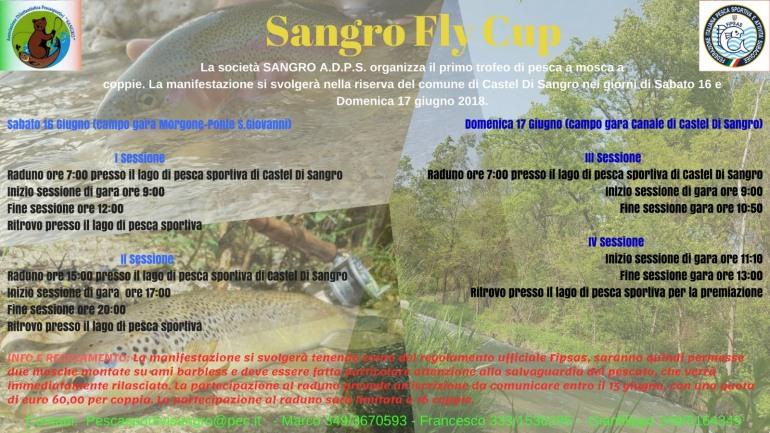 Pesca – Castel di Sangro, 1^ edizione di 'Sangro Fly Cup'