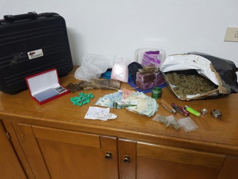 Castel di Sangro, droga: arrestato uno studente e denunciate sei persone