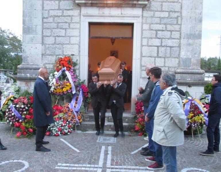 Fernando Di Laura Frattura riposa ad Alfedena