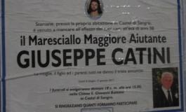 Castel di Sangro, domani l'addio al Maresciallo Catini