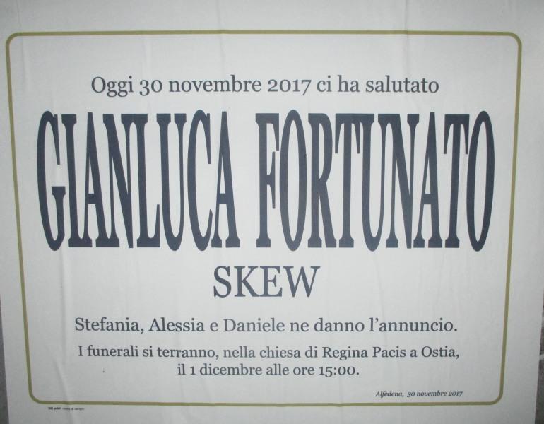 Addio, Gianluca!