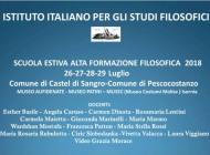 Castel di Sangro, torna la scuola estiva di alta formazione filosofica: ospite d'eccezione Dacia Maraini