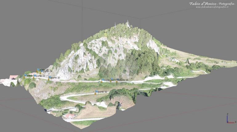 Fabio D'Amico presenta il lavoro di geologia tridimensionale sull'Alta Civita di Castel di Sangro: martedì 20 febbraio