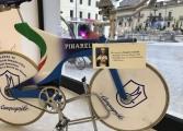 Giro d'Italia Castel di Sangro, inaugurazione museo della bicicletta