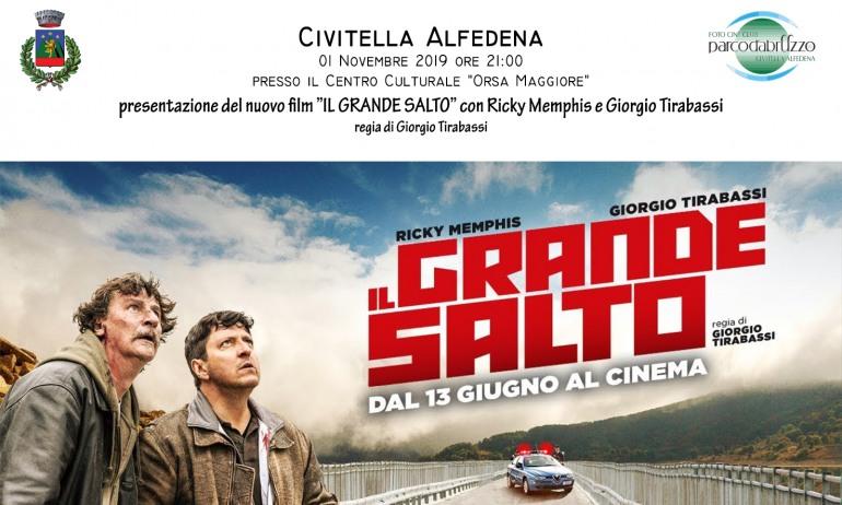 Civitella Alfedena, malore per l'attore Giorgio Tirabassi durante la presentazione del suo ultimo film: non è grave