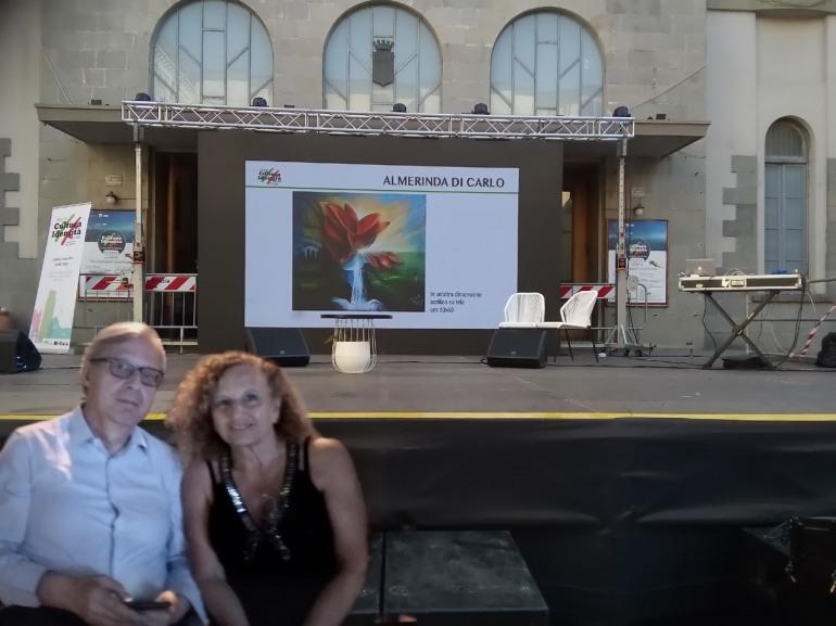 Premio cultura identità, Sgarbi si congratula con l'artista Di Carlo