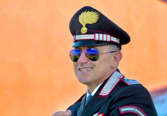 Auguri al luogotenente Antonio Gasbarro, taglia il traguardo dei cinquanta!