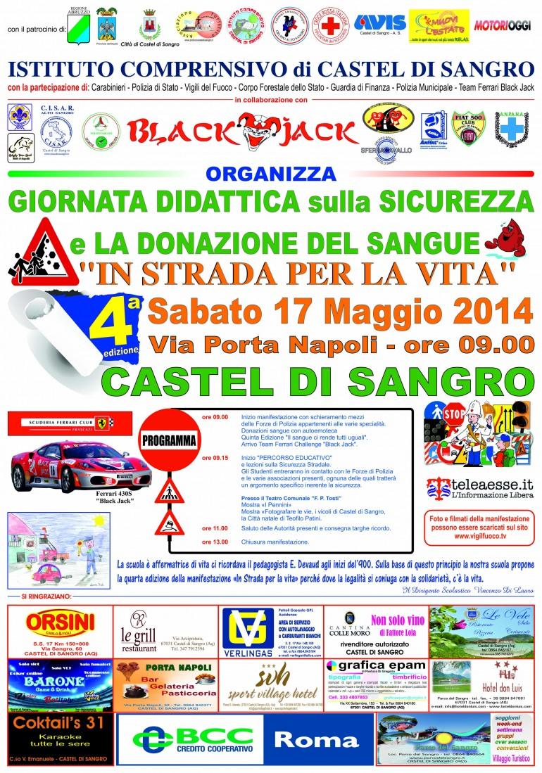 """Castel di Sangro scende """"In strada per la vita"""""""