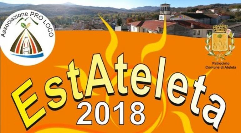 Arriva 'EstAteleta 2018',  il calendario degli eventi di luglio – agosto