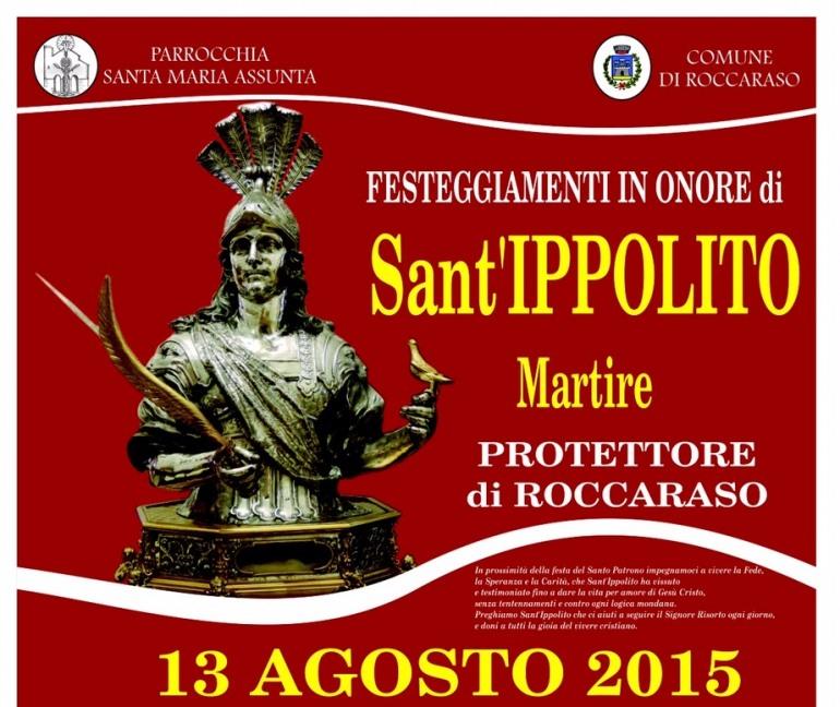 Roccaraso, Luca Carboni ospite ai festeggiamenti di Sant'Ippolito