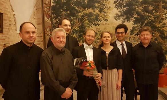 Concerti dell'abruzzese Francesco Mammola sui palchi della Lituania