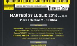 """Isernia, penne prestigiose al convegno organizzato dall'Associazione """"Francesco Casale"""""""