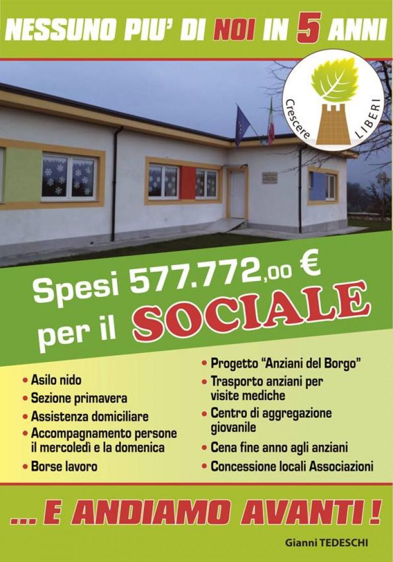 Fornelli,  Comune che investe sul sociale