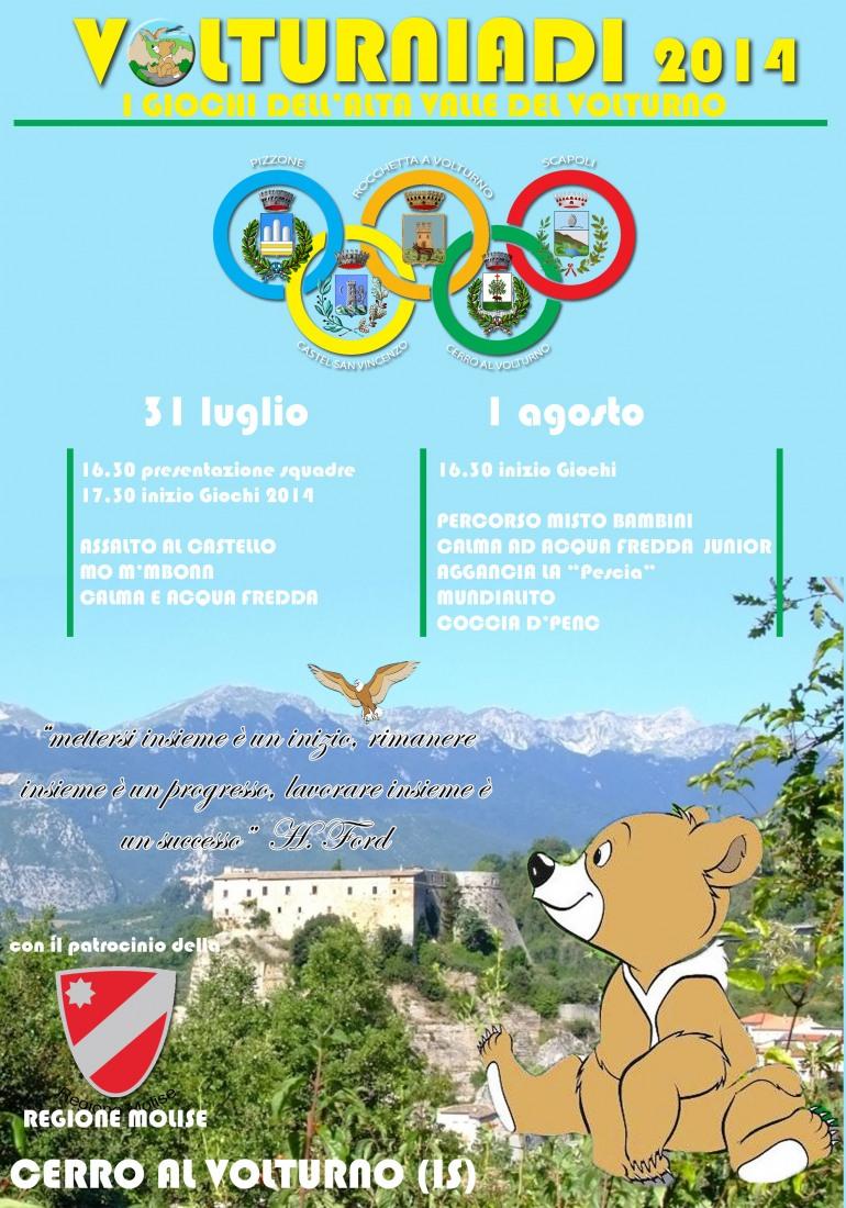 """Sport – Al nastro di partenza, le """"Volturniadi"""". I giochi dell'Alta Valle del Volturno"""