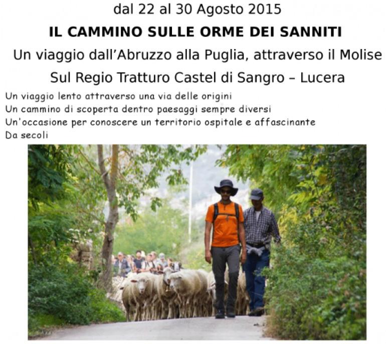 Seguendo le orme dei Sanniti, si ripete il cammino sul tratturo Castel di Sangro – Lucera