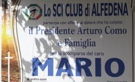 Lutto, si spegne Mario Como: era il papà del presidente dello Sci Club di Alfedena