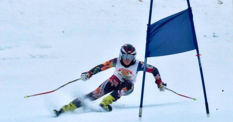 Sci – Campionati italiani under 16: ottimi risultati per Michelle Valentini