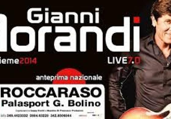 Roccaraso - Corsa al biglietto per il concerto di Gianni Morandi