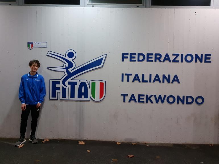 Taekwondo – Civitella Alfedena, inzia l'avventura in Spagna con la Nazionale italiana per Odone Santucci