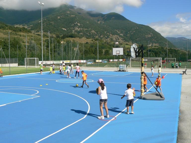 Nuova Sangro Basket, concluso il campo estivo. Si riprende a metà settembre