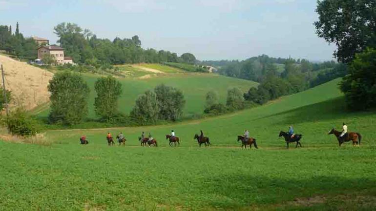 Passeggiata a cavallo sul tratturo molisano