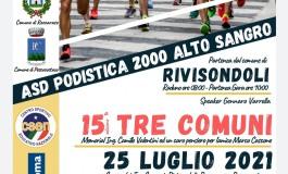 """Gara podistica """"Tre Comuni"""" Rivisondoli - Roccaraso - Pescocostanzo ai nastri di partenza"""