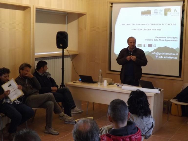 Ripartire dall'agricoltura per rilanciare l'economia, a Poggio Sannita ne discute il Gal Alto Molise