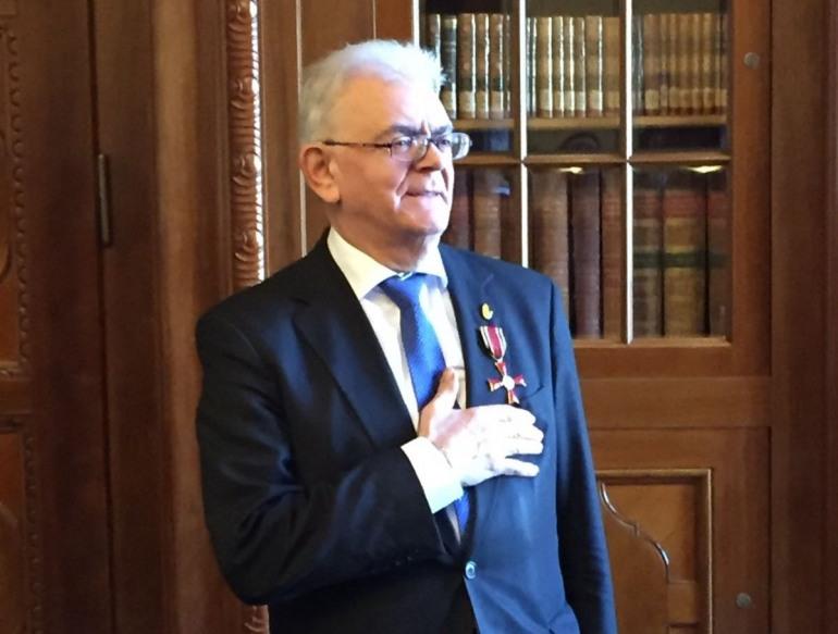 Croce al merito della repubblica federale tedesca al capracottese Giovanni Pollice