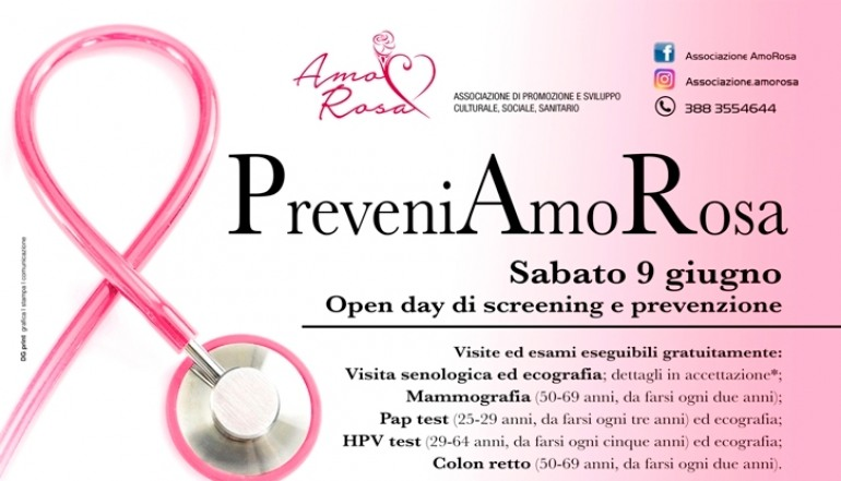 Al via l'open day screening e prevenzione a Castel di Sangro