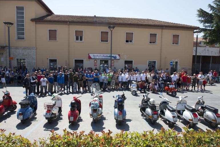 In 130 al primo raduno nazionale organizzato dal Vespa Club Isernia