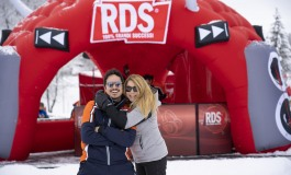 Roccaraso, Anna Pettinelli e Fabrizio D'Alessio con Rds Play on tour 2020