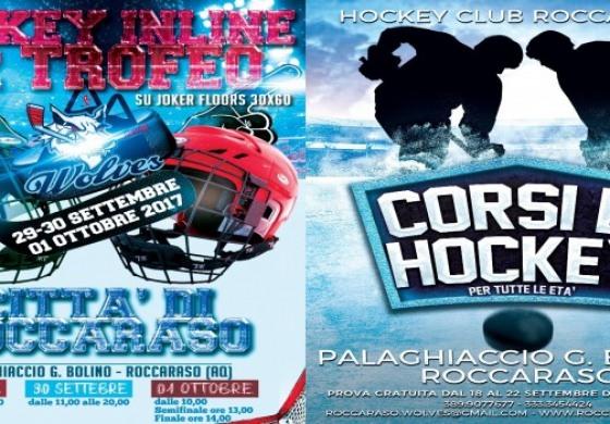 """Hockey, 2° Trofeo inline """"Città di Roccaraso"""""""
