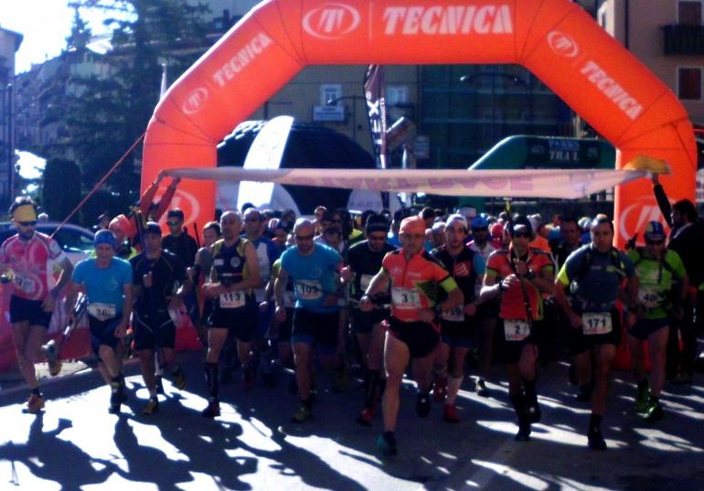Atleti da tutta Italia al Roccaraso Trail