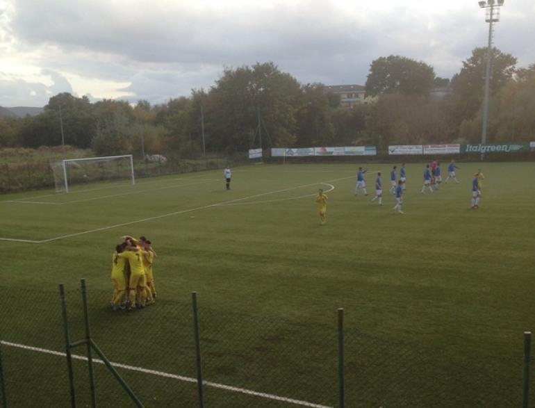 Spettacolo e goal tra Roccaravindola e Vastogirardi: 3 – 3
