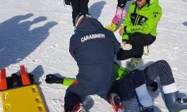 Roccaraso, incidente sulla pista per un 15enne dello sci club Posillipo