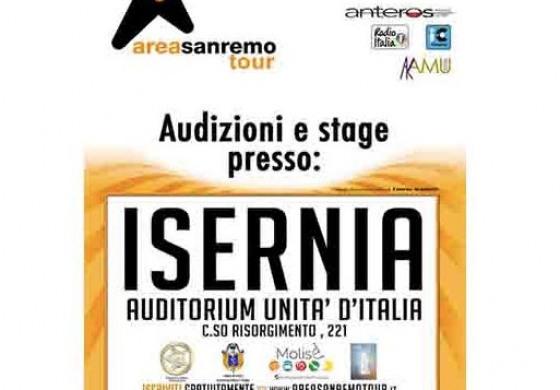 Isernia, la commissione artistica di San Remo fa tappa all'auditorium